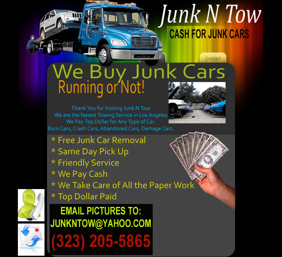 Junk Car Removal. Cash For Junk Cars. Junk Cars Wanted. Los Angeles